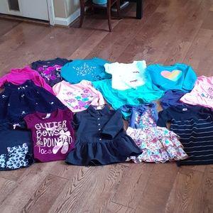 17pc Girl's Clothing Set